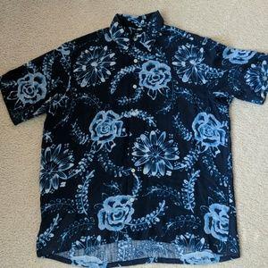 ⛱️ Nautica Shirt 100% Silk
